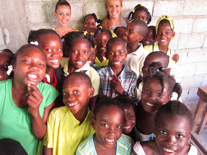 The children of Haitian Families First