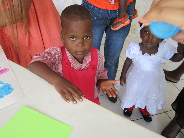 Edanson thriving - Haitian Families First