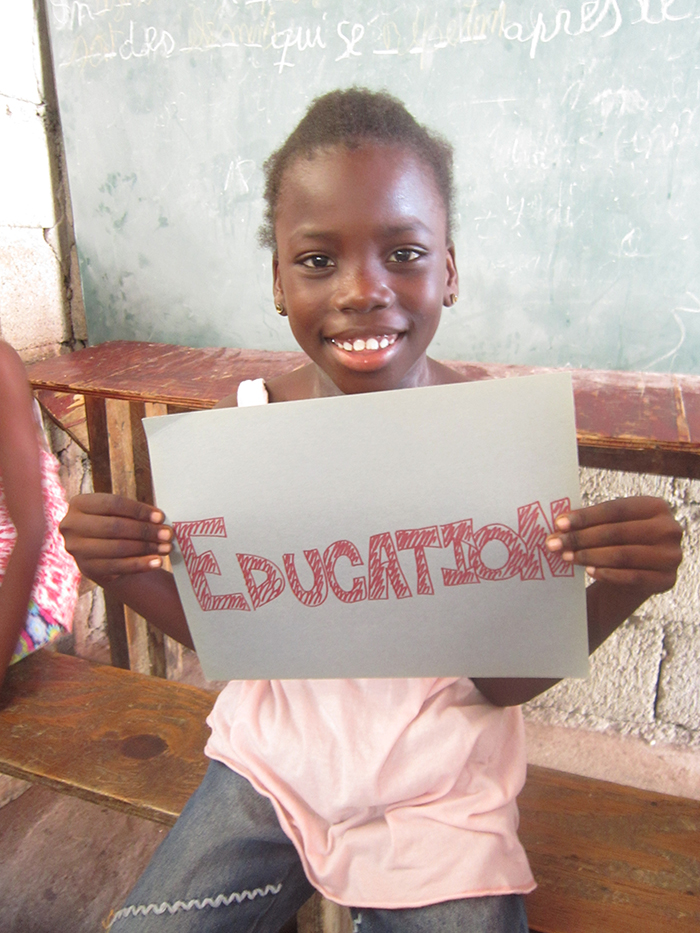 Make a donation to the Education Program through Haitian Families First