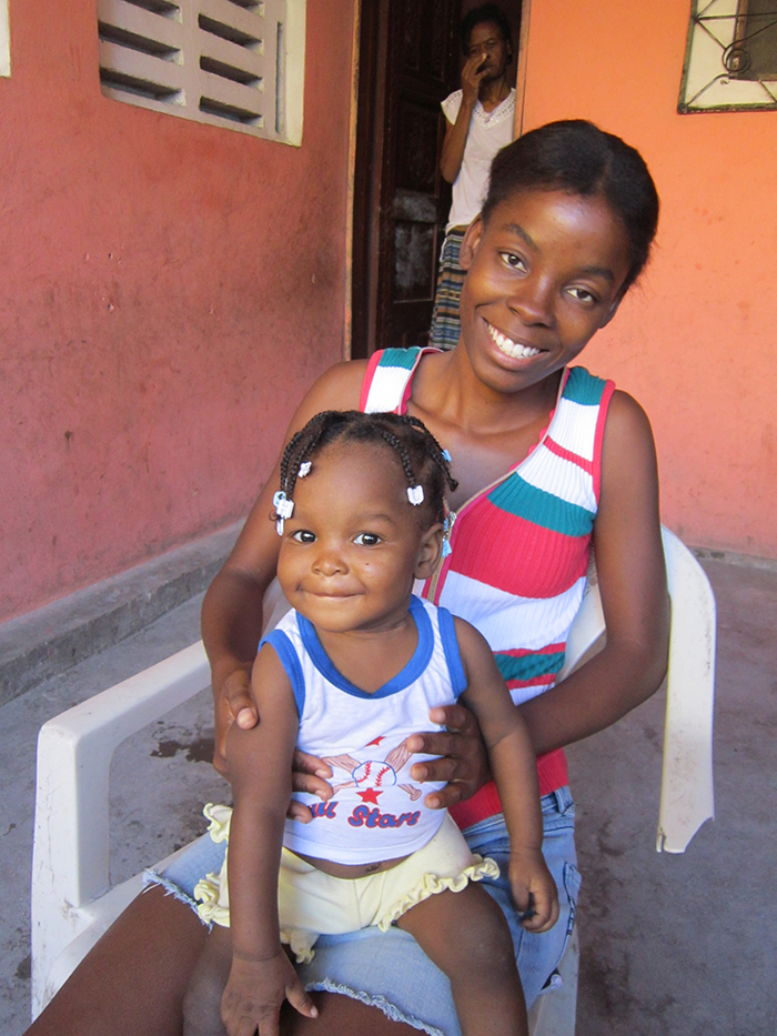 Love and her Aunt - Haitian Families First