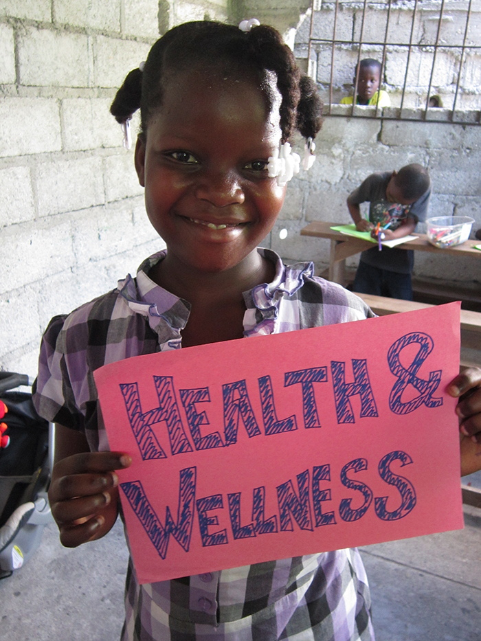 Make a donation to the Health + Wellness Program through Haitian Families First